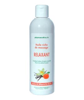 Huile Riche de massage Relaxant