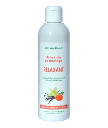 huile massage relaxant phytomedica
