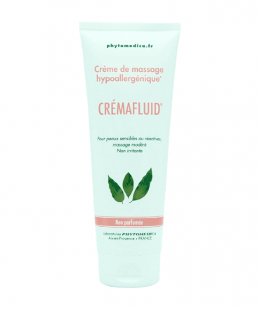 Crémafluid - creme hypoallergenique de massage